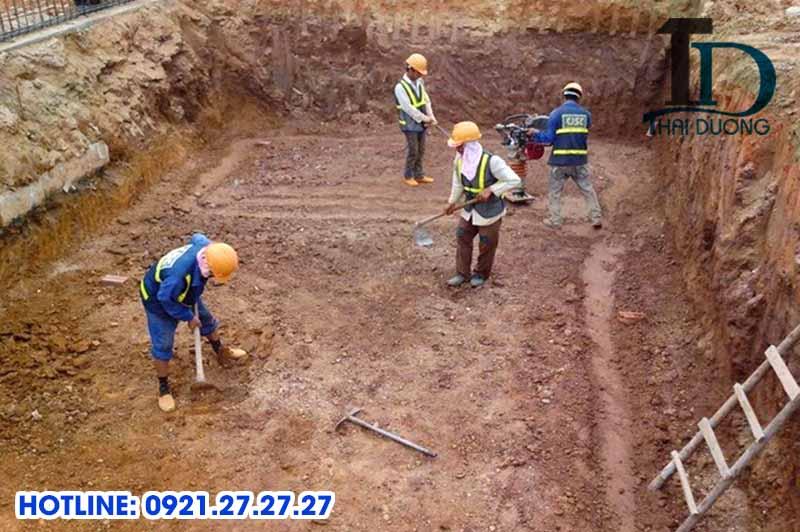 Tiêu chuẩn đào đất hố móng