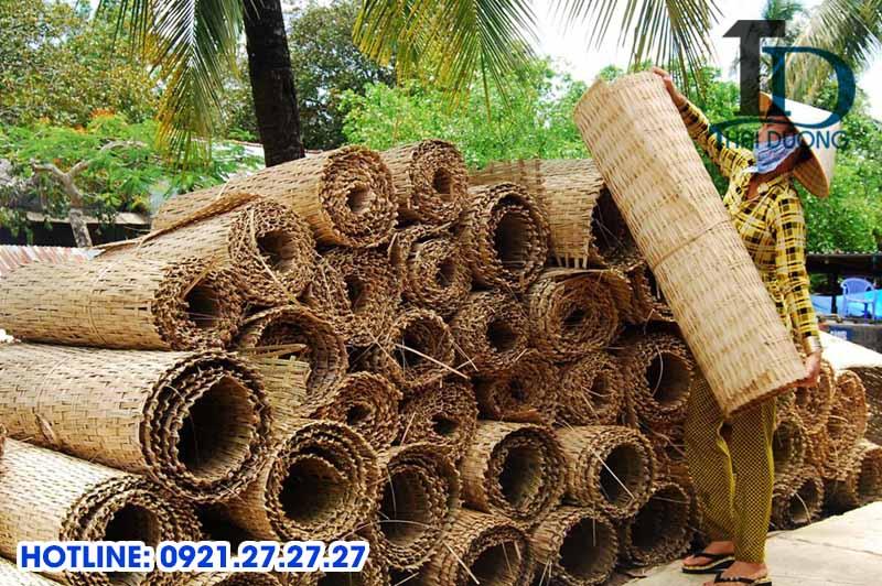 Làng nghề đan cót tre nổi tiếng